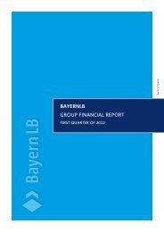 Group Financial Report Q1 (PDF) - Bayerische Landesbank