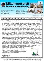 Mitteilungsblatt Weichering | Lichtenau