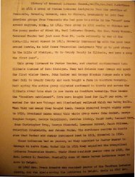 History of Emmanuel Lutheran Church, Dwight, R ev. Paul F ...