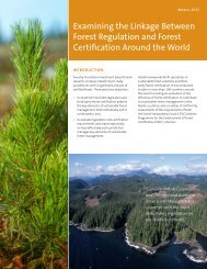Comparison of Selected Forest Certification ... - Naturally:wood