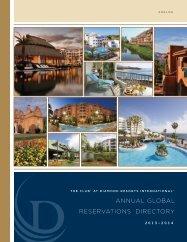 W el C ome - Diamond Resorts International