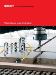 PC-based Control for the Wood Industry - download - Beckhoff