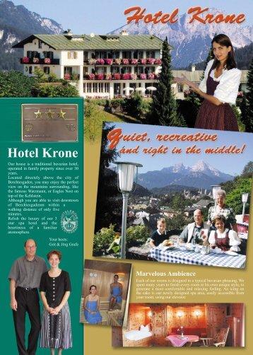 Hotel Krone Marvelous Ambience