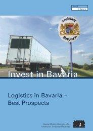 Logistics in Bayern (PDF) - Invest in Bavaria