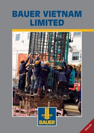 Brochure of Bauer Vietnam - BAUER Vietnam Ltd