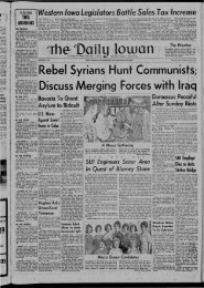 March 12 - The Daily Iowan Historic Newspapers