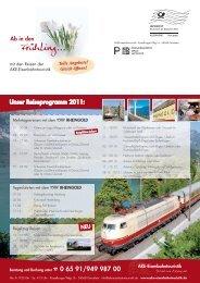 Mailing Februar 2011 - AKE Eisenbahntouristik