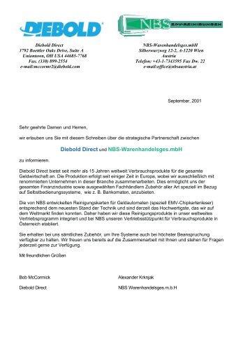 Diebold Direct und NBS-Warenhandelsges.mbH