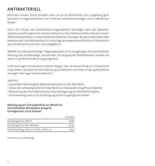 Frascio Drückergarnitureg - Nutzholz May