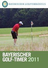 Download BGV Golf-Timer 2012 - Bayerischer Golfverband