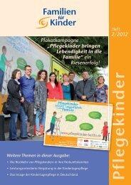 Pflegekinder-Heft 2/12 als PDF-Dokument - Kindertagespflege