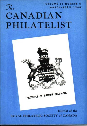CANADIAN - The Royal Philatelic Society of Canada