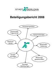 Beteiligungsbericht 2008 - Iserlohn