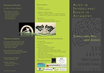 Flyer Science meets Arts meets Science