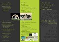 Science meets Arts meets Science - IIG - Albert-Ludwigs-Universität ...