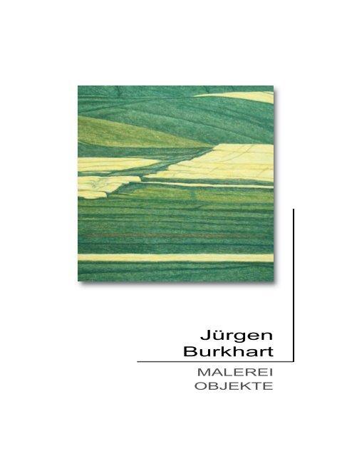 Katalog Engen - Jürgen Burkhart
