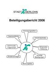 Beteiligungsbericht 2006 - Iserlohn