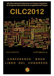 Conference Book / Libro del Congreso - IV Congreso Internacional ...