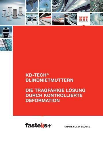 FASTEKS+ KD-TECH® Blindnietmuttern | KVT - KVT Koenig Gmbh