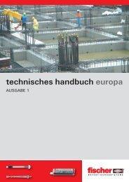 technisches handbuch europa - Fischer
