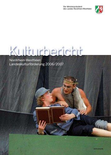 Kulturförderung des Landes Nordrhein-Westfalen - MIZ
