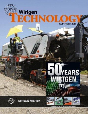 WTech FW 2004 - Wirtgen America