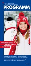 14. Februar ab 18.30 Uhr - Flensburg Programm