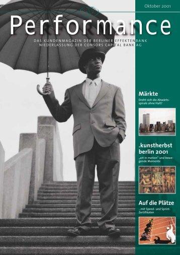 Säkularer Abwärts - Berliner Effektenbank AG