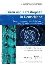 Risiken und Katastrophen in Deutschland - Bundesamt für ...