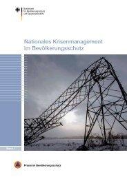 Nationales Krisenmanagement im Bevölkerungsschutz - des ...