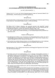 Beitrags- und Gebührensatzung  zur ... - Dittelbrunn