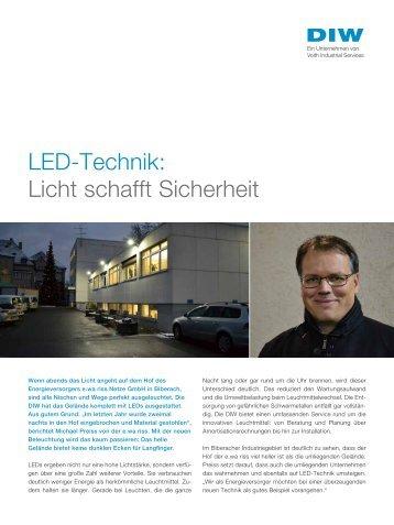 LED-Technik: Licht schafft Sicherheit - DIW