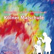 Dokumentationsmappe - Kölner Malschule