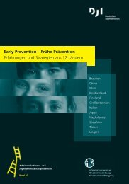Early Prevention - Deutsches Jugendinstitut  e.V.