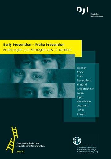 Early Prevention - Deutsches Jugendinstitut  e.V.