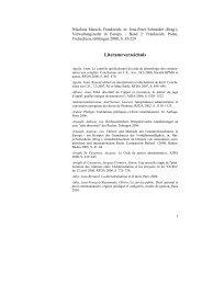 Literaturverzeichnis - European Legal Studies Institute