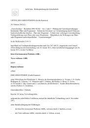 Urteil des Europäischen Gerichtshofes zur Rechtssache C-41 - BMU