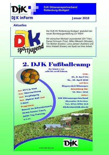 Newsletter Januar 2010.pub - DJK-Diözesanverband Rottenburg ...