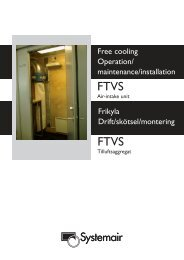 Wiring diagram - Systemair