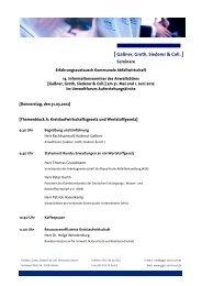 [ Gaßner, Groth, Siederer & Coll. ] - GGSC Seminare