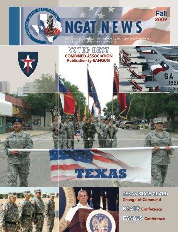 NGAT Magazine - Fall 2009 - National Guard Association of Texas