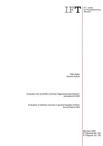 IFT-Berichte Bd. 156