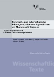 Schulische und außerschulische Bildungssituation - Deutsches ...