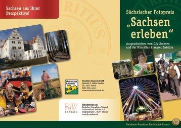 """Sächsischer Fotopreis """"Sachsen erleben"""" - DJV Sachsen"""