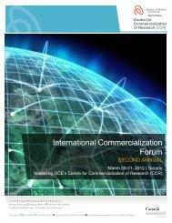 International Commercialization Forum