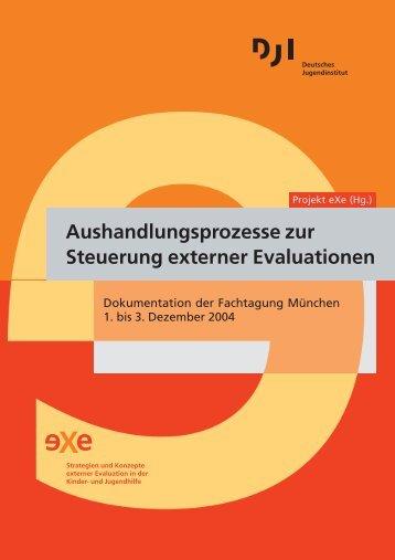 Aushandlungsprozesse zur Steuerung externer Evaluationen