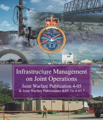 JWP 4-05 Infrastructure Management on Joint Operations
