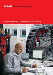 Beckhoff Engineering – Komplettlösung aus einer Hand - download ...