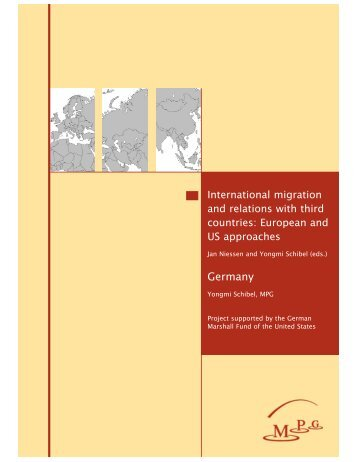International migration and relations with third countries GERMANY