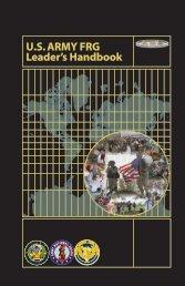 U.S. ARMY FRG Leader's Handbook - Fort Jackson - U.S. Army